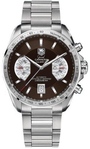 TAG Heuer Herren-Armbanduhr Analog Automatik edelstahl Grau
