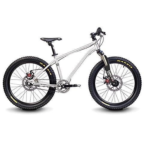 EarlyRider Belter Urban Trail 3S Vélo Mixte Enfant, Aluminium
