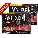 SyntholKiné Patch Chauffant Grand Format Spécial Dos - Lot de 2 Boîtes de 4 Patchs
