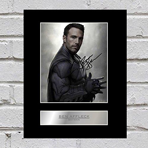 Ben Affleck Photo dédicacée encadrée Batman