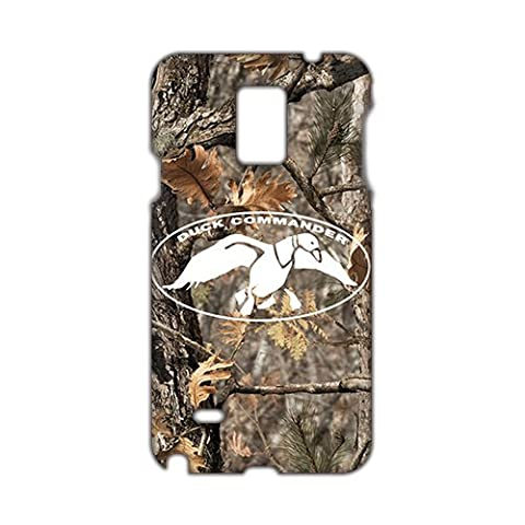 Fortune Duck Dynasty Duck Commander Realtree Camo 3D Phone Case for Samsung Galaxy Note 4