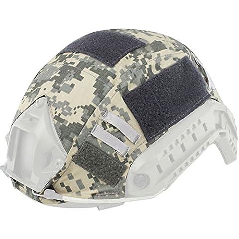 wodery esterno mimetico esercito Airsoft Paintball tattico militare, per casco elmetto, ACU