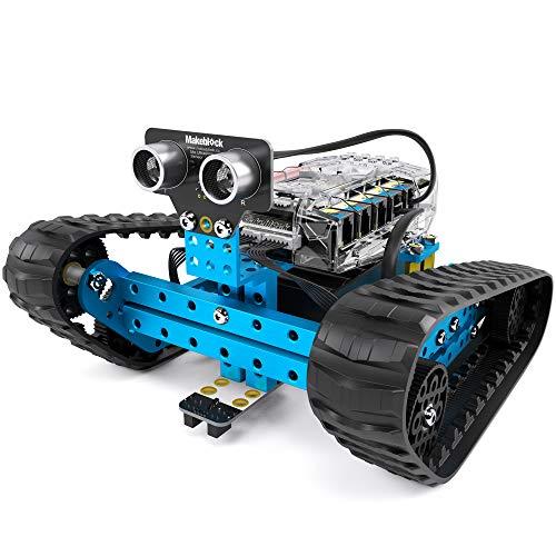 Makeblock mBot Ranger, 3-in-1-Programmierbare Roboterbaukasten, DREI Formen, Bluetooth Version, Blau, Mint-Bildung