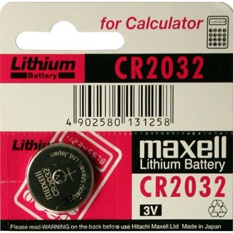 Maxell CR2032 - Batería de Litio 3V - 1 UNIDAD