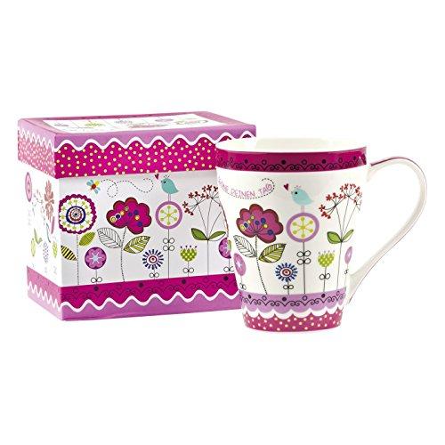 Praisent °* Tasse Blüten Gott segne deinen Tag