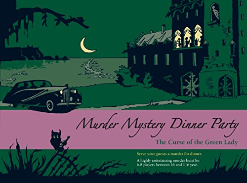 Blaubart Verlag Murder Mystery Dinner Party - The Curse of the Green Lady