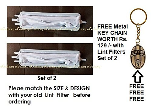 eGalaxy - LINT FILTER FOR VIDEOCON SEMI AUTOMATIC WASHING MACHINE Set of 2