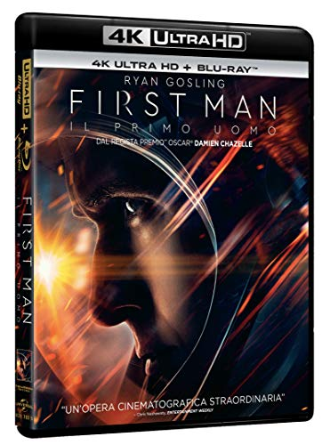 Blu-Ray - First Man: Il Primo Uomo (Blu-Ray 4K Ultra HD+Blu-Ray) (1 BLU-RAY)