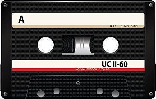 Audio Cassette Side A UC II 60 Black Alta Calidad De Coche De Parachoques Etiqueta Engomada 12 x 10 cm