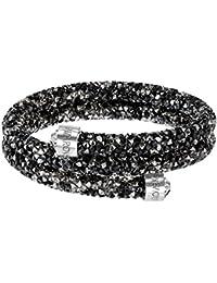 Swarovski Damen-Armreif Swarovski Crystaldust Bracelet Edelstahl Kristall silber Rundschliff   - 5255909