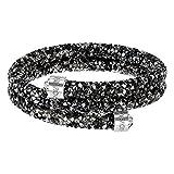 Swarovski Bracelet-jonc Crystaldust Double, multicolore