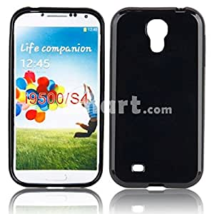Solid TPU Protective Case for Samsung i9500 Black