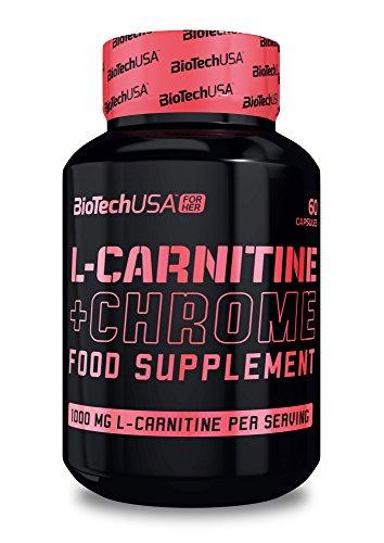 L-Carnitine + Chrome 60 capsules - Carnitine et Chrome - BiotechUSA