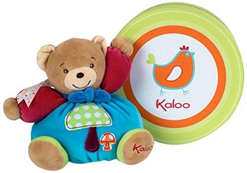Kaloo 963254 - kleiner Bär Champignon, 18 cm, mehrfarbig