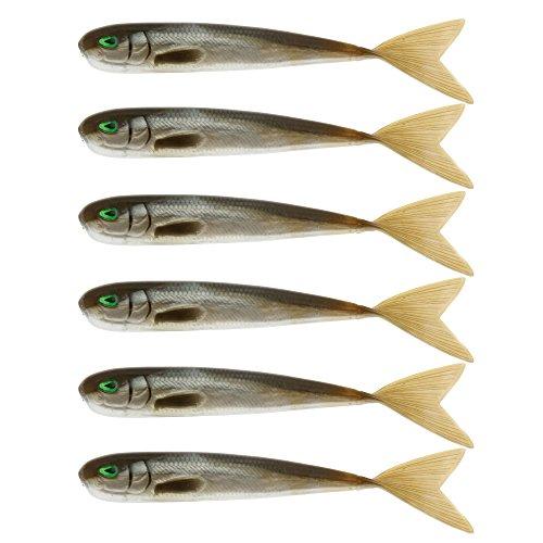WestinMega Teez 3,5' (88,9mm) No Action V Tail Shad Sneaky Bass