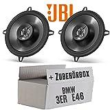 BMW 3er E46 - JBL Stage 502 | 2-Wege | 13cm Koax Lautsprecher - Einbauset