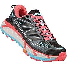 Hoka One One Mafate Speed 2gris y rosa–Zapatillas de senderismo Mujer