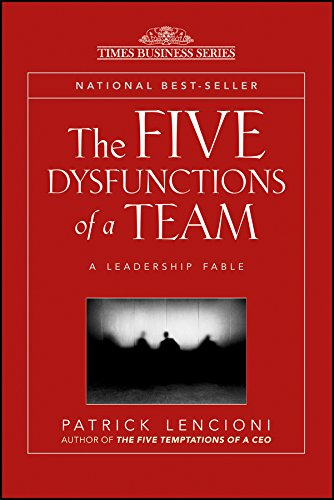 The Five Dysfunctions Of A Team: A Leadership Fable price comparison at Flipkart, Amazon, Crossword, Uread, Bookadda, Landmark, Homeshop18