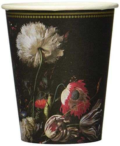 Talking Tables PPBQ-Cup Party Porzellan Barock Pappen Tasse, Pappe, Mehrfarben, 0.08 x 8 x 4.84 cm