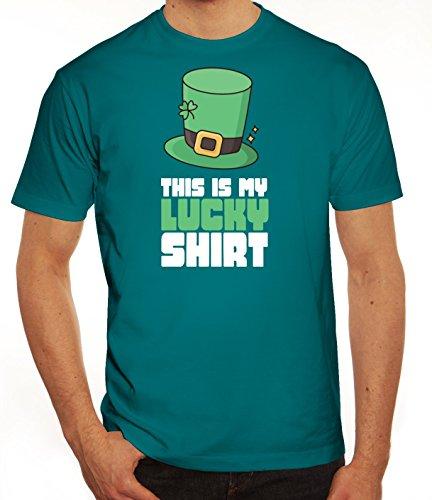 Saint Patrick´s Day St. Patricks Day Herren T-Shirt This Is My Lucky Shirt 1 Diva