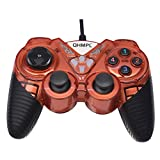 #8: Quantum QHM7487 2 Way Vibration USB Gamepad Controller with Turbo Function