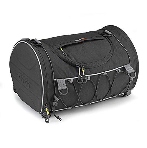 Motorrad Gepäckrolle für Harley Davidson CVO Road King (FLHRSE5) Givi EA107B 35 Liter schwarz