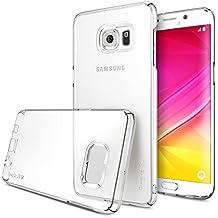 Galaxy S6 Edge Plus Funda, Ringke SLIM *** Cobertura Total en Los 4-Sides & Espalda *** [Crystal] Super Delgado Ligera todo momento la protección del estuche rígido para Samsung Galaxy S6 Edge+/S6 Edge Plus
