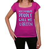 Photo de One in the City Femme Tee Vintage T Shirt My Favorite People Call Me Loreen par One in the City