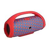 Tragbare Boombox Bluetooth Stereo Lautsprecher Wireless Sound Box Radio Musik Player Mode Lautsprecher mit Freisprecheinrichtung Anruf für Handy Tablet mp3 mp4