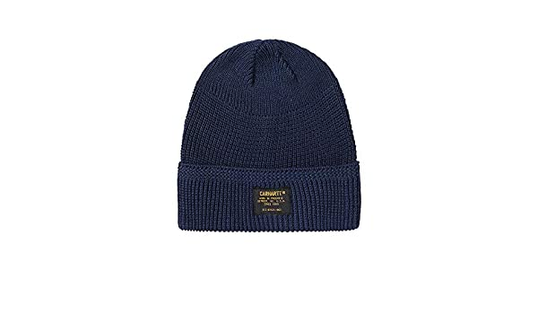 4f6088ec8d07a Carhartt Truman Beanie in Navy Blue One Size  Amazon.co.uk  Clothing