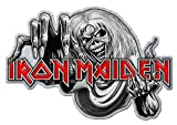 Iron Maiden Pin Badge Number Of The Beast Band Logo Nue offiziell Metal Lapel