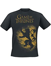 Game of Thrones House Lannister - Spray T-Shirt Black
