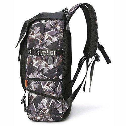 Camouflage Umhängetasche Personalisierte Rucksack Oxford Stofftasche Bluecamouflage