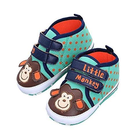 Itaar Cute Unisex Baby Toddler Infant Antiskid Cartoon Stars Soft-soled