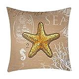Print Pillow Case Polyester Sofa Car Cushion Cover Home Decor Baumwoll-Kissen mit Spruch Ohne Dich ist Alles doof, Geschenk-Kissen, 45 cm x 45 cm,Bunt