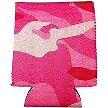 Las mujeres rosa camuflaje puede enfriador de latas de bebida Insulator rosa camuflaje Huggie rosa camuflaje