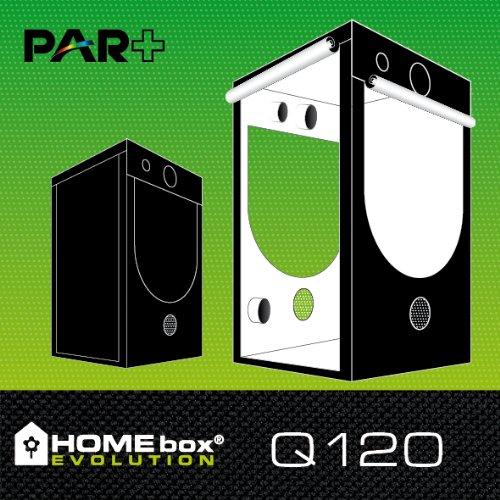 Chambre de culture intérieur HOMEbox® Evolution PAR+ Q120 (120x120x200cm)