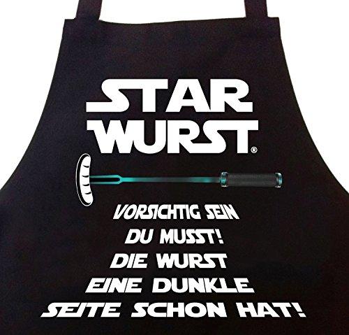 51dwXD7TjfL - STAR WURST Grillschürze Lustige Geschenke für Männer