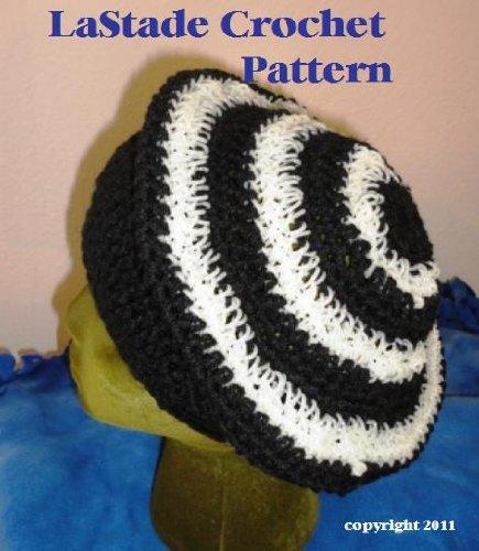 Glow in the Dark Bull's-eye Beret Hat Crochet Pattern (English Edition) (Glow Dark In Hats The)