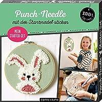 """Mein Punch-Needle Starter-Set """"Häschen"""": mit der Stanznadel sticken"""