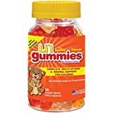 Gélatines pour enfants - Soutien Multivitamines et Minéraux Complet pour les Enfants - Les Li'l Gummies de Mother's...