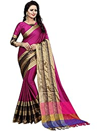 Sarees For Women Sarees New Collection Sarees For Women Latest Design Women's Cotton Silk Saree With Blouse Piece... - B07F2JZ5PH