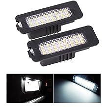 24-SMD error libre LED Número Matrícula Luces (paquete de 2)