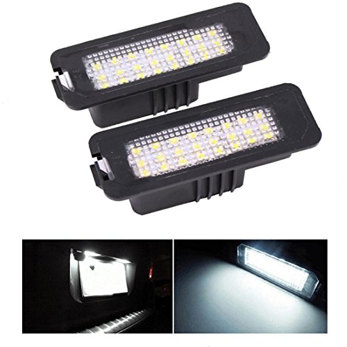 Preisvergleich Produktbild 2 pack 24-smd Fehlerfrei Anzahl LED Kennzeichenbeleuchtung