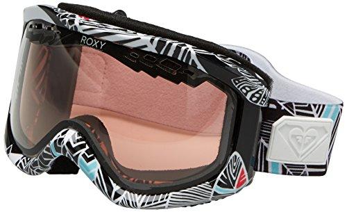 roxy-sunset-art-series-gafas-de-snowboard-color-negro-con-lentes-amber-photochromic-talla-unica