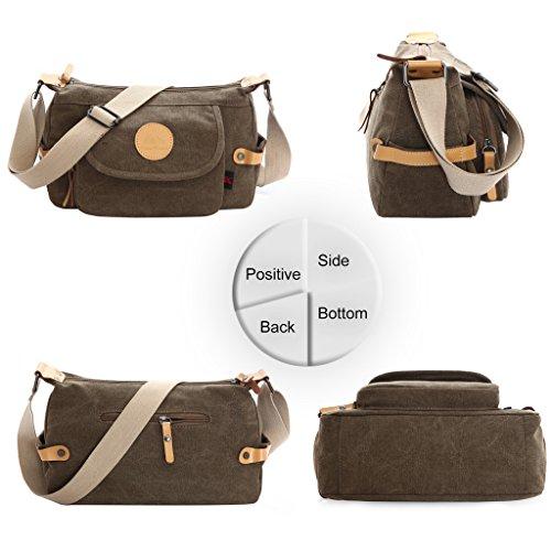 Donne Tela Borse Tote / Borse a tracolla / Retro Totes / sacchetto del messaggero / sacchetto di spalla Blu