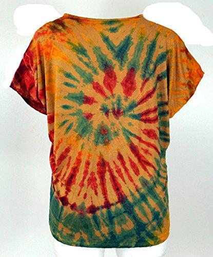 Batik Hippie T-Shirt, Damen T-Shirt / Tops, T-Shirts