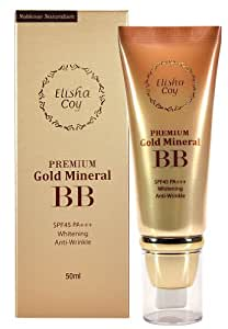 Elishacoy Noblesse Naturalism Premium Gold Mineral BB Cream SPF45 PA+++ (Gold Therapy effect)
