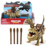 Dragons - Action Spiel Set - Drachen Fleischklops Meatlug Spike Blast