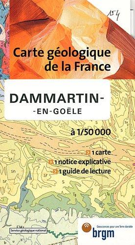 Carte géologique : Dammartin-en-Goële